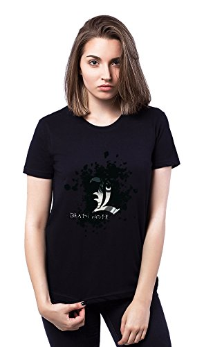 Death Note Jepanese Series Black Girl Damen T-shirt