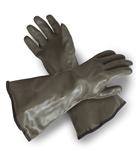 Extreme Cold Weather PVC Coated with Thinsulate Lined Decoy Hunting Gloves, 330, Size: One Size Fits Most - Thinsulate Lining Gauntlet Gloves