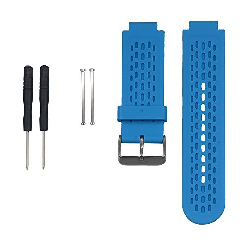 Band for Garmin Approach S2 /S4, Silicone Wristband Replacement Watch Band for Garmin Approach S2/S4 GPS Golf Watch (Blue)