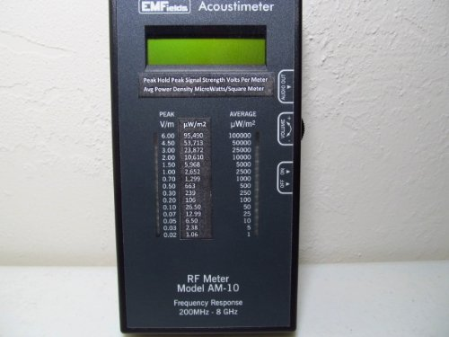 Acoustimeter RF Meter Model AM-10 Radio Frequency Meter EMF Protection. The Best RF Detector! Protect Yourself from EMF by Acoustimeter RF Meter Model AM-10 (Image #5)