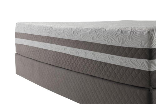 Sealy Posturepedic Optimum Elation Gel Memory Foam Standard King Split Mattress Set
