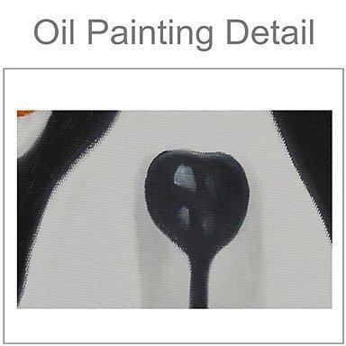 XHL Art Handgemalte Tier Modern,Drei Paneele Paneele Paneele Leinwand Hang-Ölgemälde , 24  x 36  B0788BRQKN Malkarton Auktion eb02c6