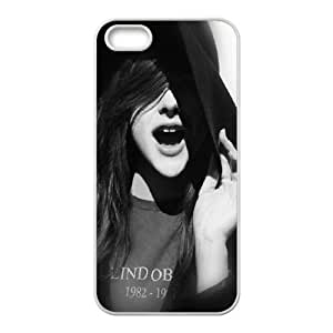 iPhone 4 4s Cell Phone Case White Chloe Grace Moretz Smile Actress Hfsan