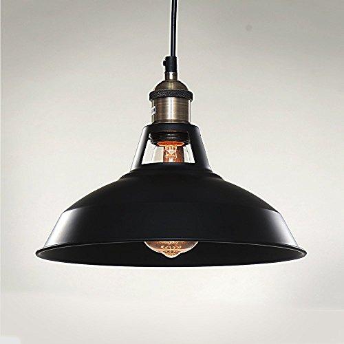 SPARKSOR 1-Light Pendant Lamp, Retro Industrial Pendant