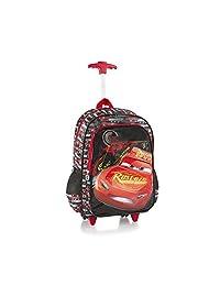 Heys Disney Rolling Backpacks Kids Multicolored School Bag - Cars 18 Inch