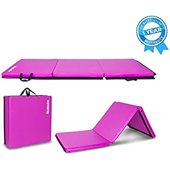 Amazon.com : Matladin 6' Folding Tri-fold Gymnastics Gym