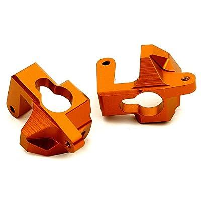 Integy RC Model Hop-ups T8688ORANGE Billet Machined Caster Blocks for HPI Ken Block WR8 3.0