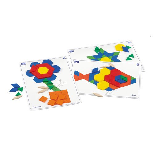 EAI Education Pattern Block Task Cards: Set of 30 (Advantage Design)