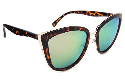 my-girl-cat-eye-women-fashion-sunglasses-gold-metal-rim-mirrored-lens-green-pink