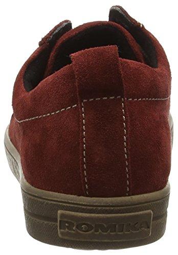 09 Nadine Baskets Femme Rot carmin Basses Romika 411 Rouge Noir 5gwqnaApZp