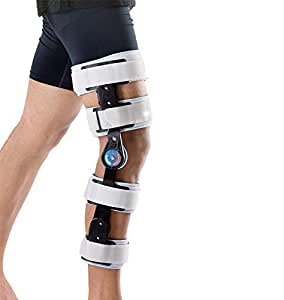 Wellcare Supports Post Op Knee Brace Grey Size Universal