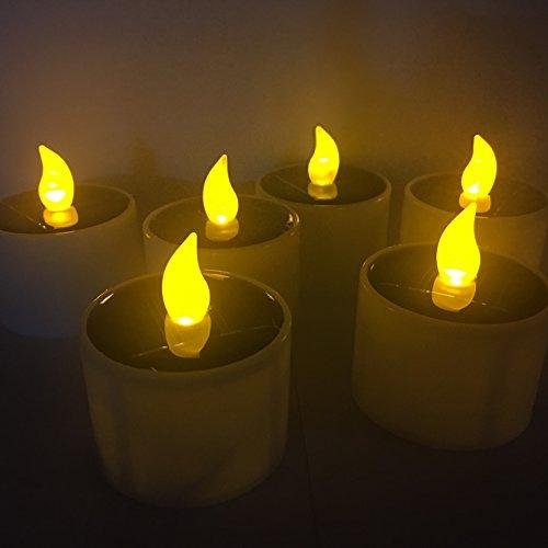 solar candles outdoor - 9