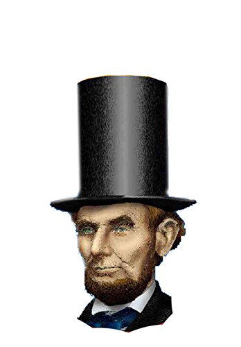 [F54709/238 Abe Lincoln Hat & Beard Kit] (Kids Abraham Lincoln Costumes Kit)