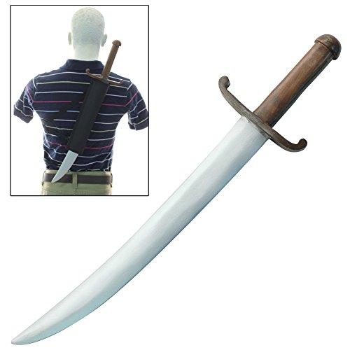 Shamshir Persian Wooden Practice Sword FREE Sheath (Renaissance Costumes Drawing)
