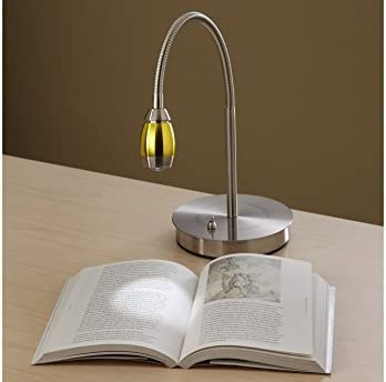 Focused Beam Natural Light Desk Lamp – Gold Shade