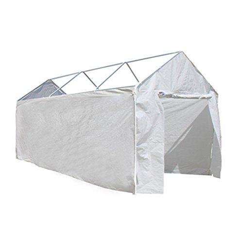 ALEKO CP1020N Weather Resistant Polyethylene Caravan Carport Sidewalls 10 x 20 Foot White by ALEKO