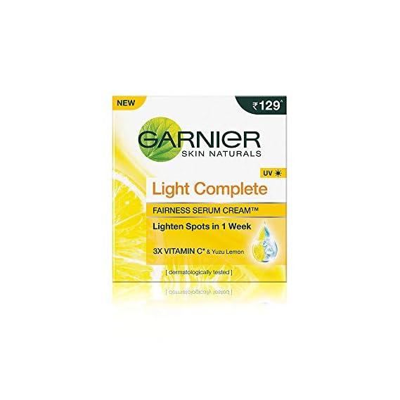 Garnier Skin Naturals Light Complete Serum Cream, 45g