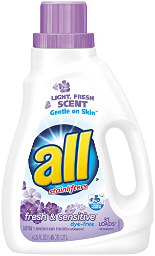 All Liquid Laundry Detergent  Fresh   Sensitive  46 5 Fluid Ounces  31 Loads