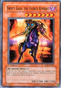 Yu-Gi-Oh! - Swift Gaia the Fierce Knight (SD5-EN006) - Structure Deck 5: Warrior's Triumph - 1st Edition - Common (Fierce Knight Gaia Swift)