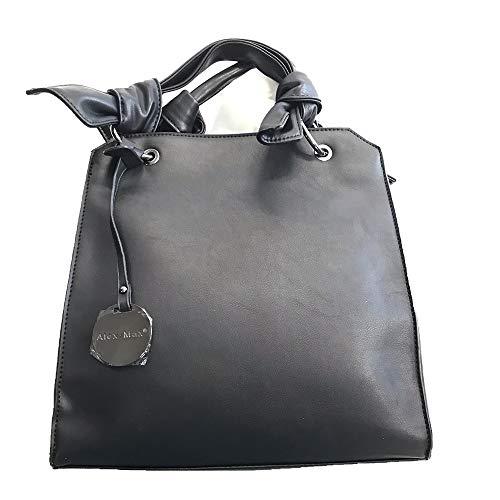 Black Tracolla Nero Ecopelle Borsa Alex Con Max Art 1454 46xp06wHq1