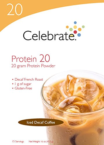 Peanut Chocolate Swirl Butter (Celebrate Protein 20 Powder - Iced Decaf Coffee - 15 Servings)