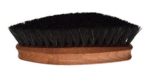 Woly Horse Hair Leather Shine Brush 6½