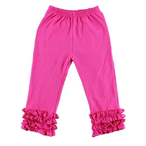 Ruffled Hot Pants - 4