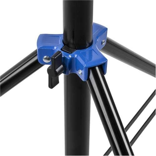 Flashpoint Pro Air-Cushioned Heavy-Duty Light Stand Blue, 9.5