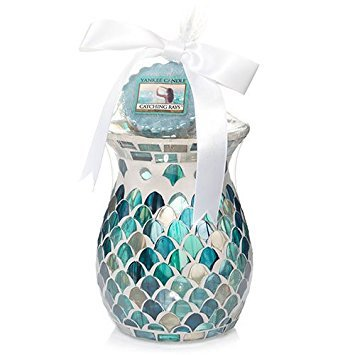 Yankee Candle Fresh Ocean Wax Melts Warmer Gift Set With Tarts