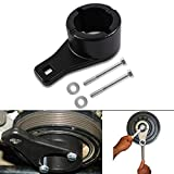 for Toyota/Lexus Crankshaft Damper Pulley Holding Holder Harmonic Tool with 2PCS Crank Bolts