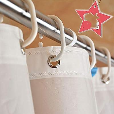 vitila Cortina De Ducha Mampara De Baño A Prueba De Roturas Cortina De Baño De Estrellas De Mar Moderna Ningbo Impermeable Y Partición De Moho 180 * 180 Pez Estrella: Amazon.es: Hogar