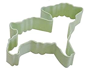 """R&M Lamb 3"""" Cookie Cutter Mint With Brightly Colored, Durable, Baked-on Polyresin Finish"""