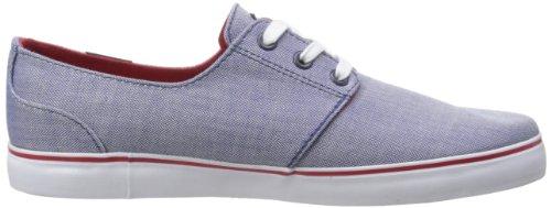 C1RCA CRIP Crip-M - Zapatillas de tela para unisex-adultos, color azul, talla 38 Azul (Blau (Blue/Red))
