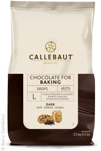 Callebaut Dark Chocolate Baking Chips L 2.5 kg: Amazon.co.uk: Grocery
