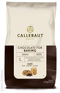 Callebaut - Gotas de Chocolate Negro para Hornear 2,5kg