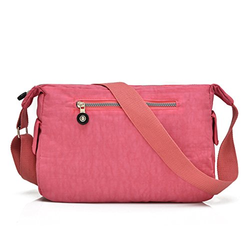 Shoulder Nylon For Bag Women Bag Messenger Pink Pockets Casual Design Girls Tianhengyi Several Bag Shoulder IB4wX