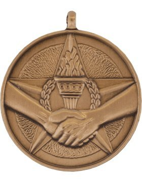 RC-ML122C, Star, Torch and Hands Shaking Achievement (Bronze)