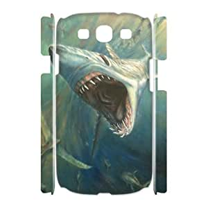 Case Of Deep Sea Shark Customized Hard Case For Samsung Galaxy S3 I9300