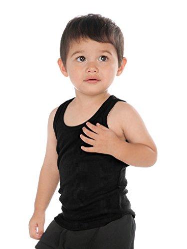 (Kavio! Unisex Infants Beater Tank (Same I2Y0514) Black 12M)