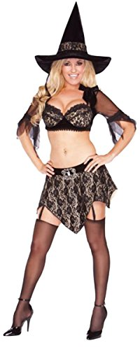 Morris Costumes PLAYBOY RICH WITCH MEDIUM