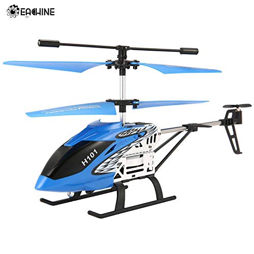 (RC Helicopters - Tracker H101 3.5CH Channels RC Mini Helicopter with Gyro Remote Controlled Rechargeable RC Toy Models for Kids Gift - by TINIX - 1 PCs)