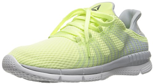 Reebok Women's Zprint Her MTM Running Shoes, Lemon Zest/Cloud Grey/White, 9 B(M) US (Womens Tennis Shoes Reeboks)