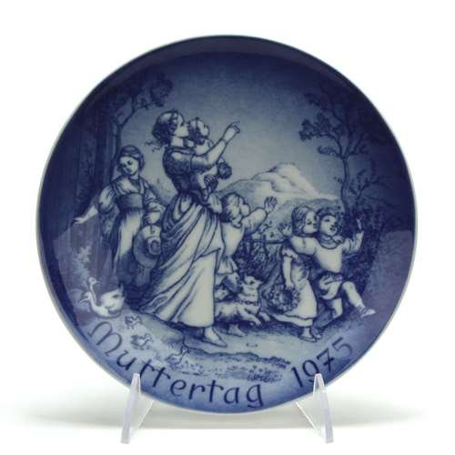 Bareuther Mother's Day by, Porcelain Decorators Plate, Spring Outing