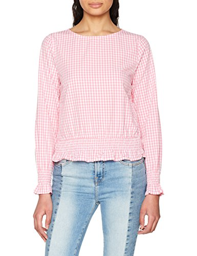 Gingham WVN Top Blouse S Onlmaia Femme Smock L Only Checks Gingham Cloud Multicolore Begonia Dancer w06qYZwx