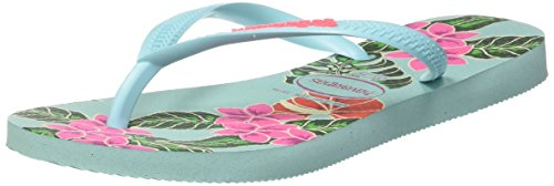 Havaianas ice Donna Infradito Blue Slim Floral Blu rw7xUArvq