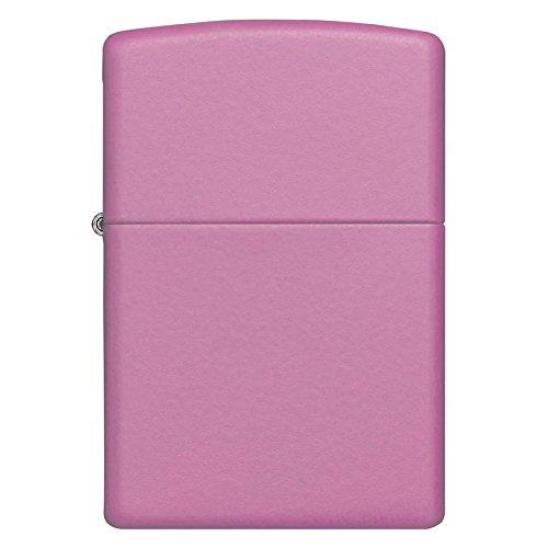 Zippo Regular Matte Pocket Lighter - Pink (Pink Matte Zippo)