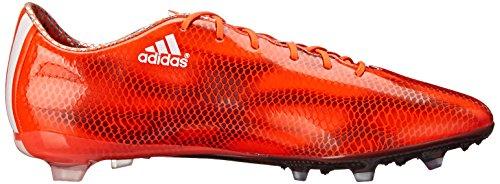Adidas Performance Mens F30 Stevig-grond Voetbalcleat Zonne-rood / Uitgevoerd Wit / Zwart
