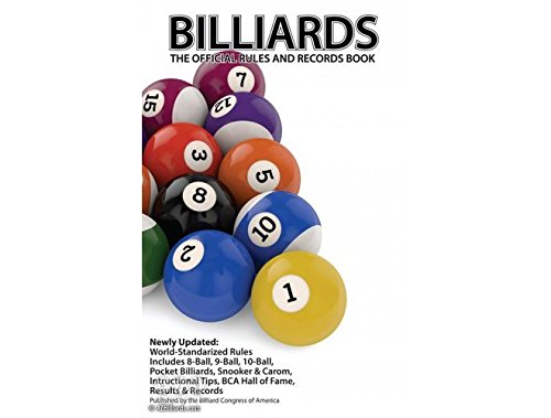 BILLIARDS The Official Rules and Records Book