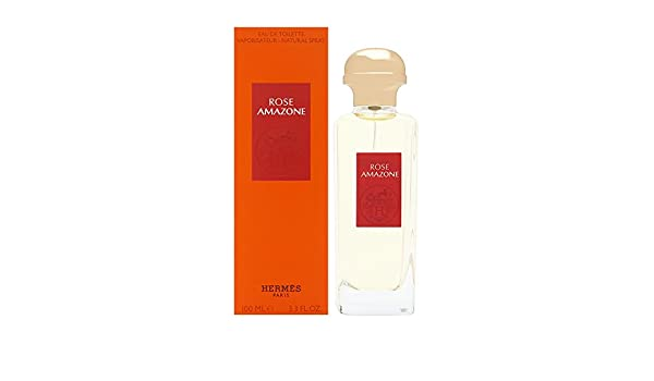Amazoncom Rose Amazone By Hermes Edt Spray 34 Oz Beauty