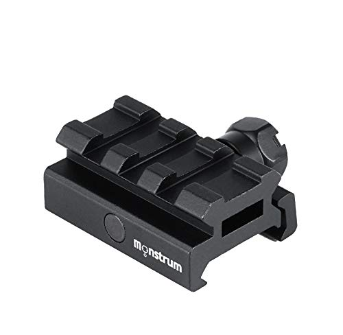 Monstrum Low Profile Picatinny Riser Mount (0.5